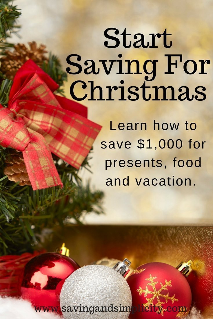 Start saving for Christmas. Make this holiday a debt free holiday. Learn 10 ways you can save on your Christmas expenses. Free printable included.